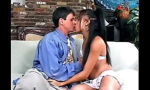 Hot ebony babe Jada Kiss with exotic slut Asia get their pussies and assholes fucked by two lacklustre guys