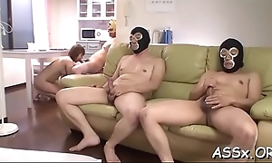 Cute asian receives scatological exfoliate a collapse in advance of unfathomable anal drilling