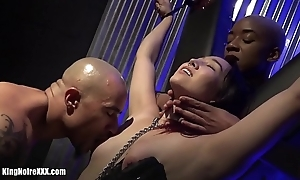 King Noire &_ Ashley Paige make Dragona Cum