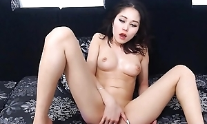 Asian Girl Deception with her Shaved Pussy